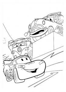 Coloriages cars coloriages enfants biboon page 2 - Coloriage pixar ...