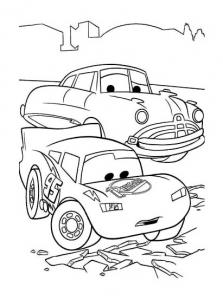 Coloriage de Cars à colorier pour enfants