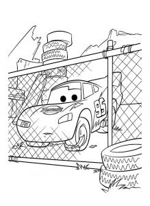 Cars disney pixar 22 coloriages cars coloriages enfants biboon - Coloriage cars toon ...