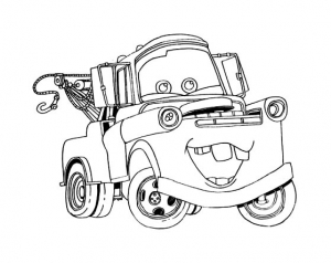 Coloriage cars disney pixar 27
