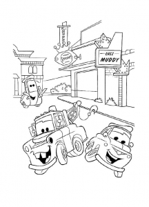 Coloriage cars disney pixar 28
