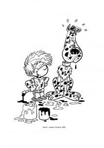 Image de Cédric à télécharger et colorier