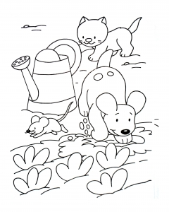 coloriage-a-imprimer-chat-4 free to print