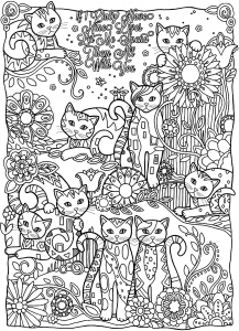 coloriage-chats