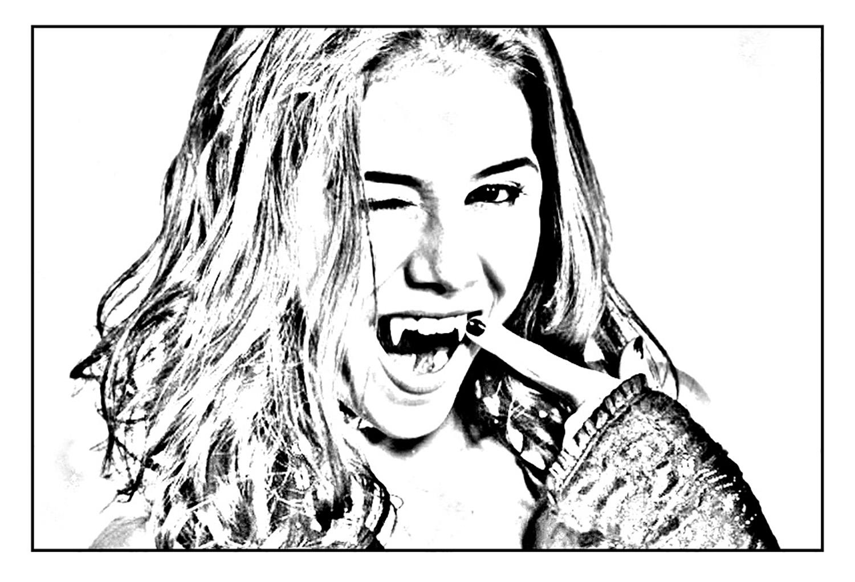 Chica vampiro daisy tape la pose gulli archives - Coloriage de vampire a imprimer ...