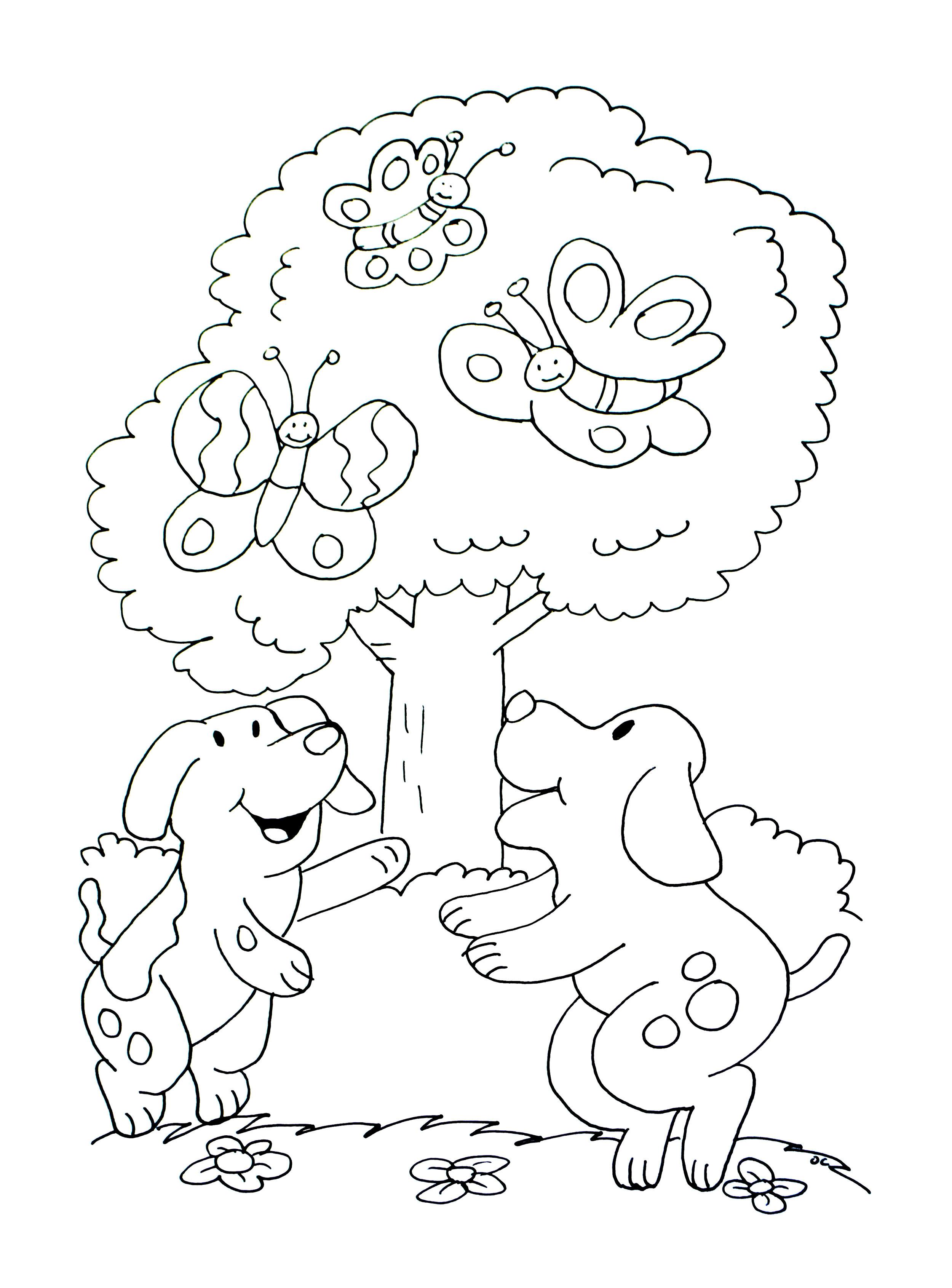 A imprimer chiens 1