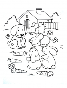 coloriage-a-imprimer-chiens-3 free to print
