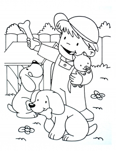 coloriage-a-imprimer-chiens-6 free to print