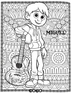 Image de Coco à imprimer et colorier