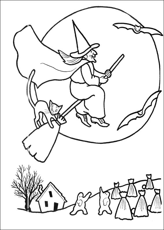 Sorci re d 39 halloween coloriage halloween coloriages - Coloriages d halloween ...