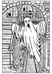 Fantôme d'Halloween