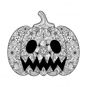 Coloriage de Halloween pour enfants
