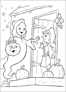 Coloriage Halloween free to print
