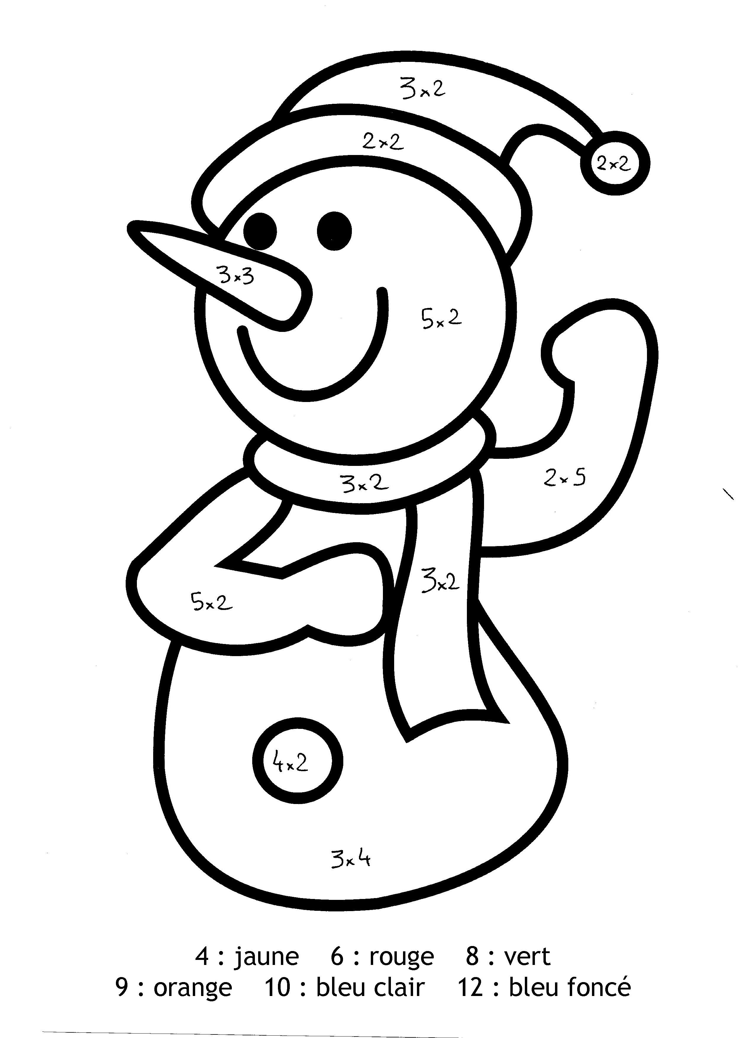 Luxe dessin a colorier gratuit bonhomme de neige - Site de coloriage gratuit ...