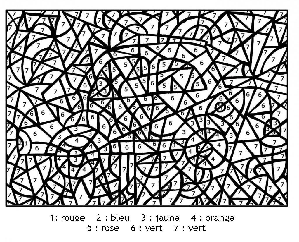 Magique a imprimerchiffres voiture coloriage magique coloriages pour enfants page 2 - Coloriage a imprimer magique ...