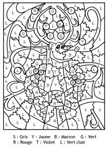 Coloriage Magique De Noel.Coloriage Magique Coloriages Pour Enfants Page 2