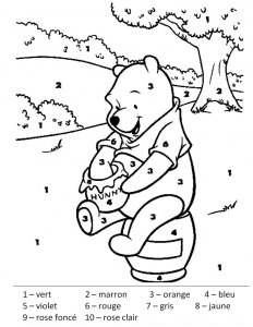 coloriage-magique-winnie-l-ourson free to print