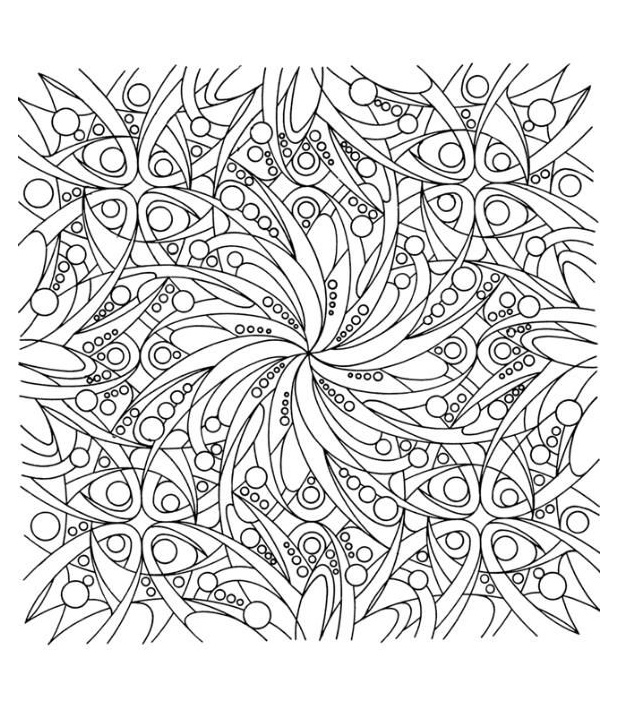 8 coloriage adulte coloriages pour enfants - Coloriage adulte difficile ...