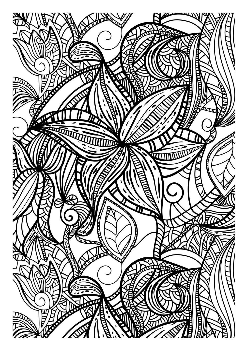 coloriage pour adultes 1 free to print