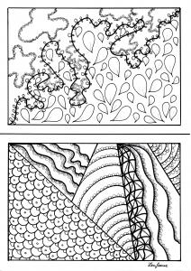 Coloriage imaginationa5 par zenfeerie