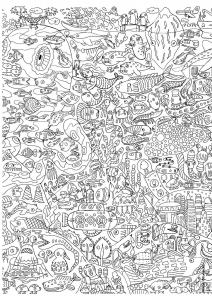 coloriage-pour-adultes-13 free to print
