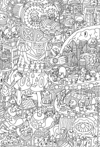 coloriage-pour-adultes-9 free to print