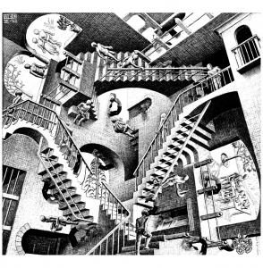 coloring-mc-escher-relativity