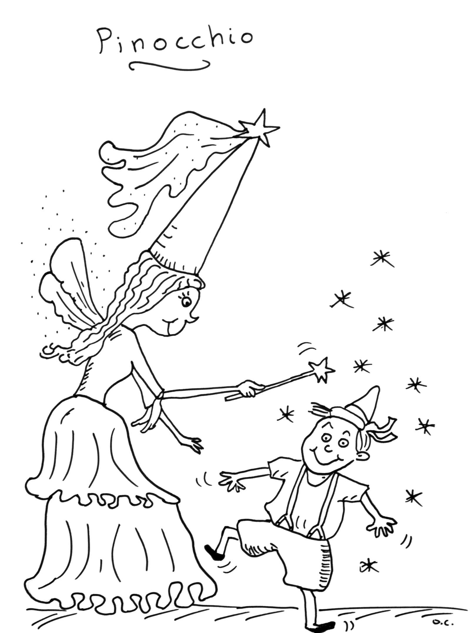 Coloriage Baleine Pinocchio.Coloriage Contes Classiques Coloriages Pour Enfants