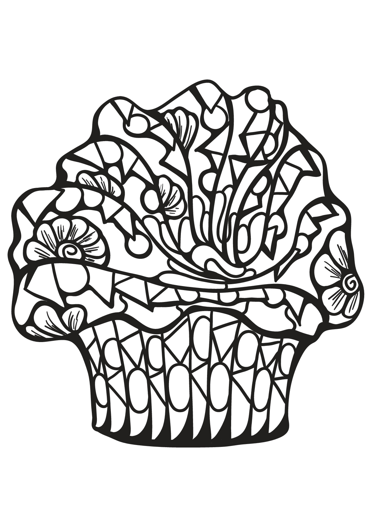 Cupcake 7 - Image avec : Papillon