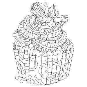 Délicieux Cupcake