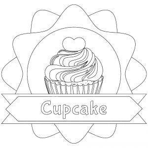 Cupcake et texte