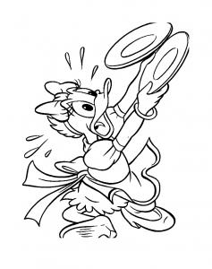 Image de Daisy à imprimer et colorier