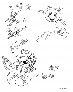 coloriage_diddl-3 free to print