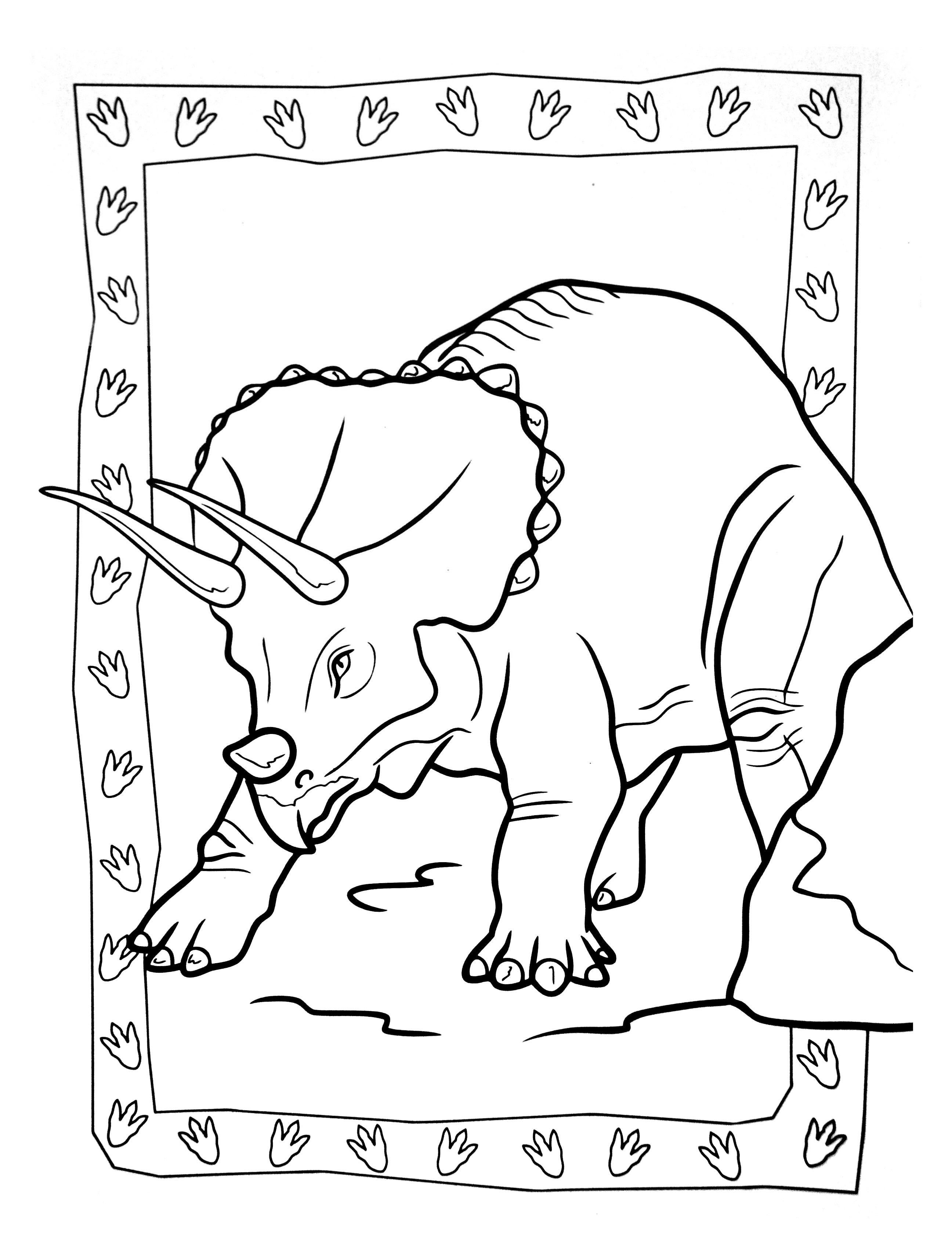 A imprimer dinosaure 6 coloriages de dinosaures - Coloriage a imprimer dinosaure ...