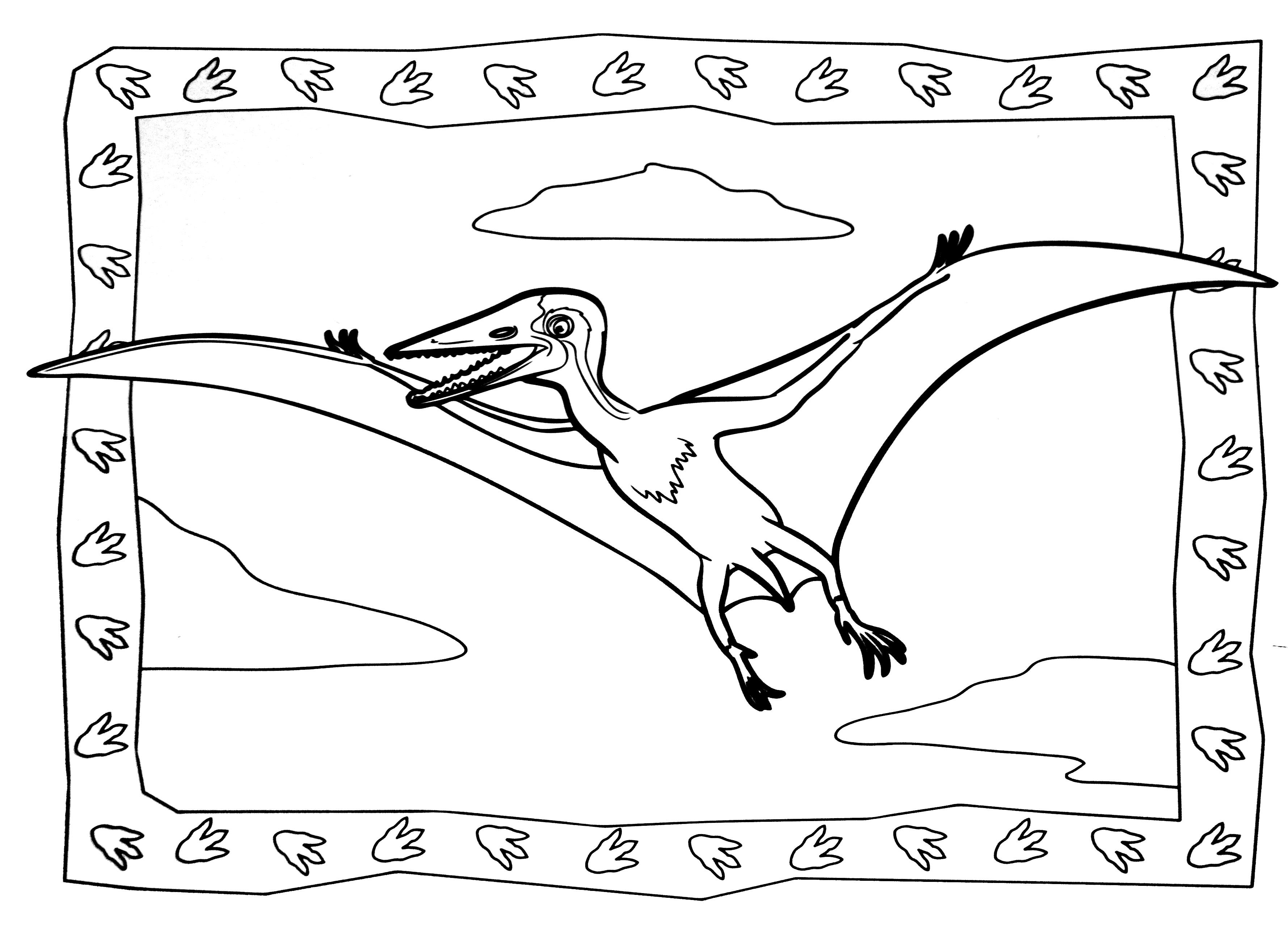 A imprimer dinosaure 7 coloriages de dinosaures - Coloriage de dinosaures ...