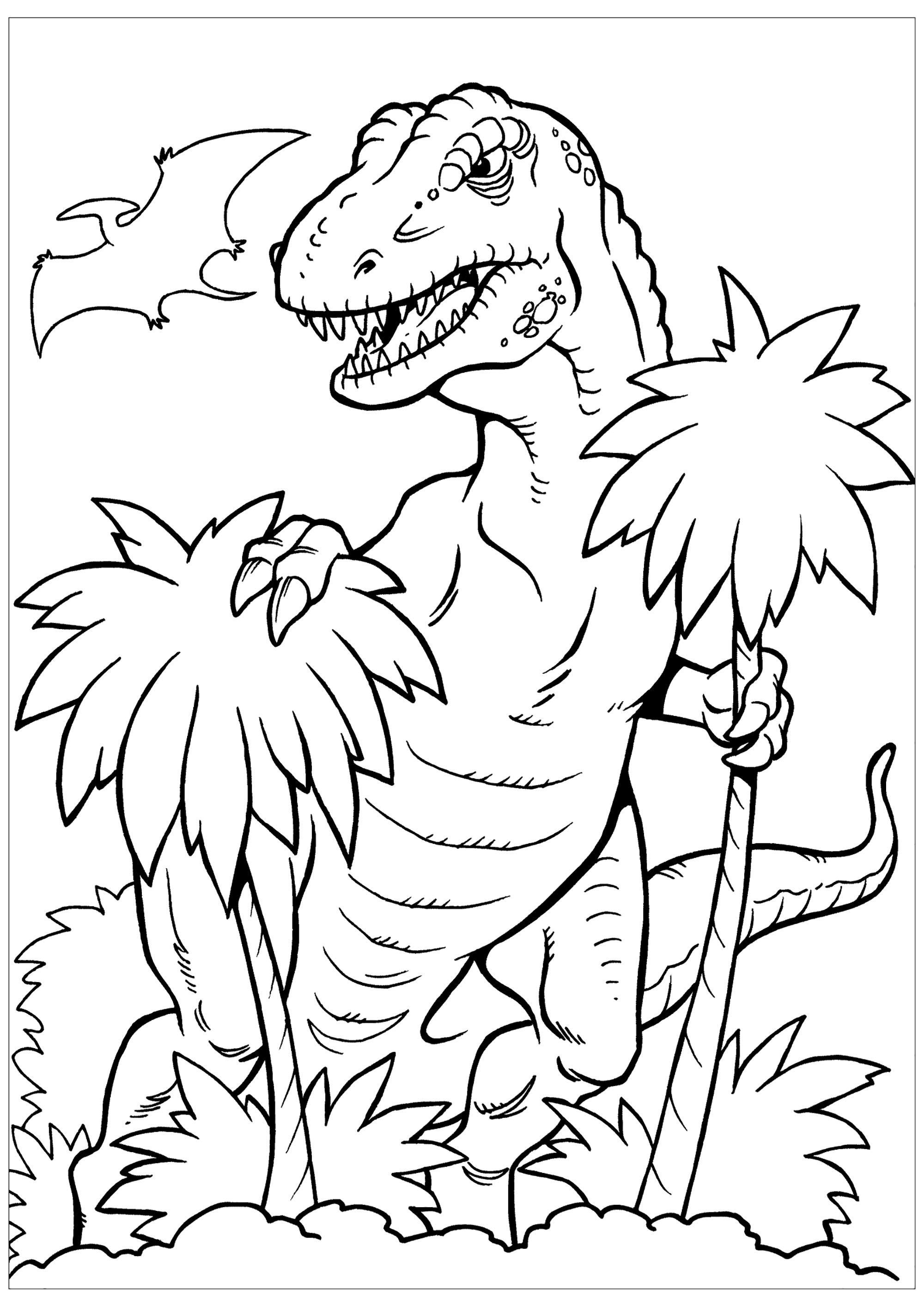 Jurassic world - Coloriages de dinosaures - Coloriages ...