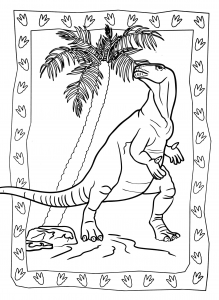 coloriage-a-imprimer-dinosaure-1 free to print