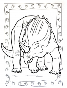 coloriage-a-imprimer-dinosaure-2 free to print