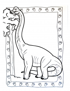 coloriage-a-imprimer-dinosaure-3 free to print