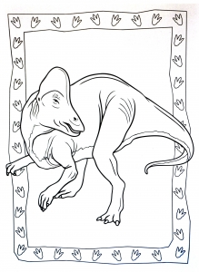 coloriage-a-imprimer-dinosaure-8 free to print