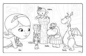 Coloriage De Docteur La Peluche Disney A Imprimer Coloriage Docteur La Peluche Disney Coloriages Pour Enfants