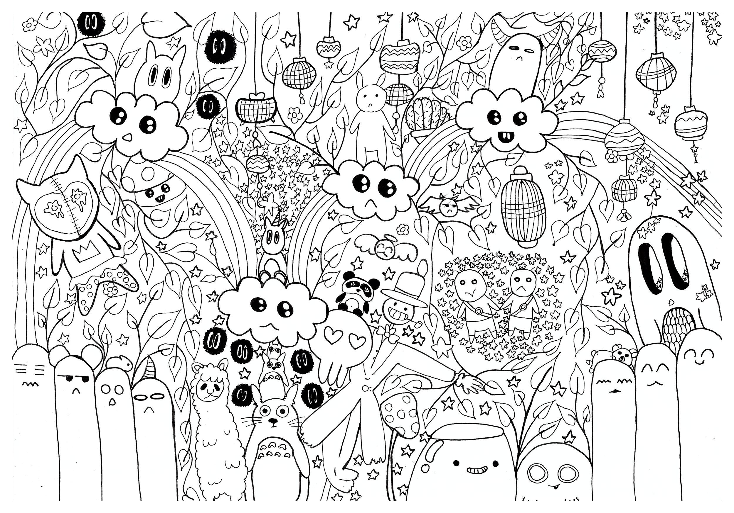 Doodle : Totoro