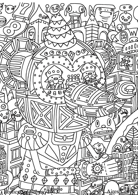 Doodling gribouillage doodle art 1