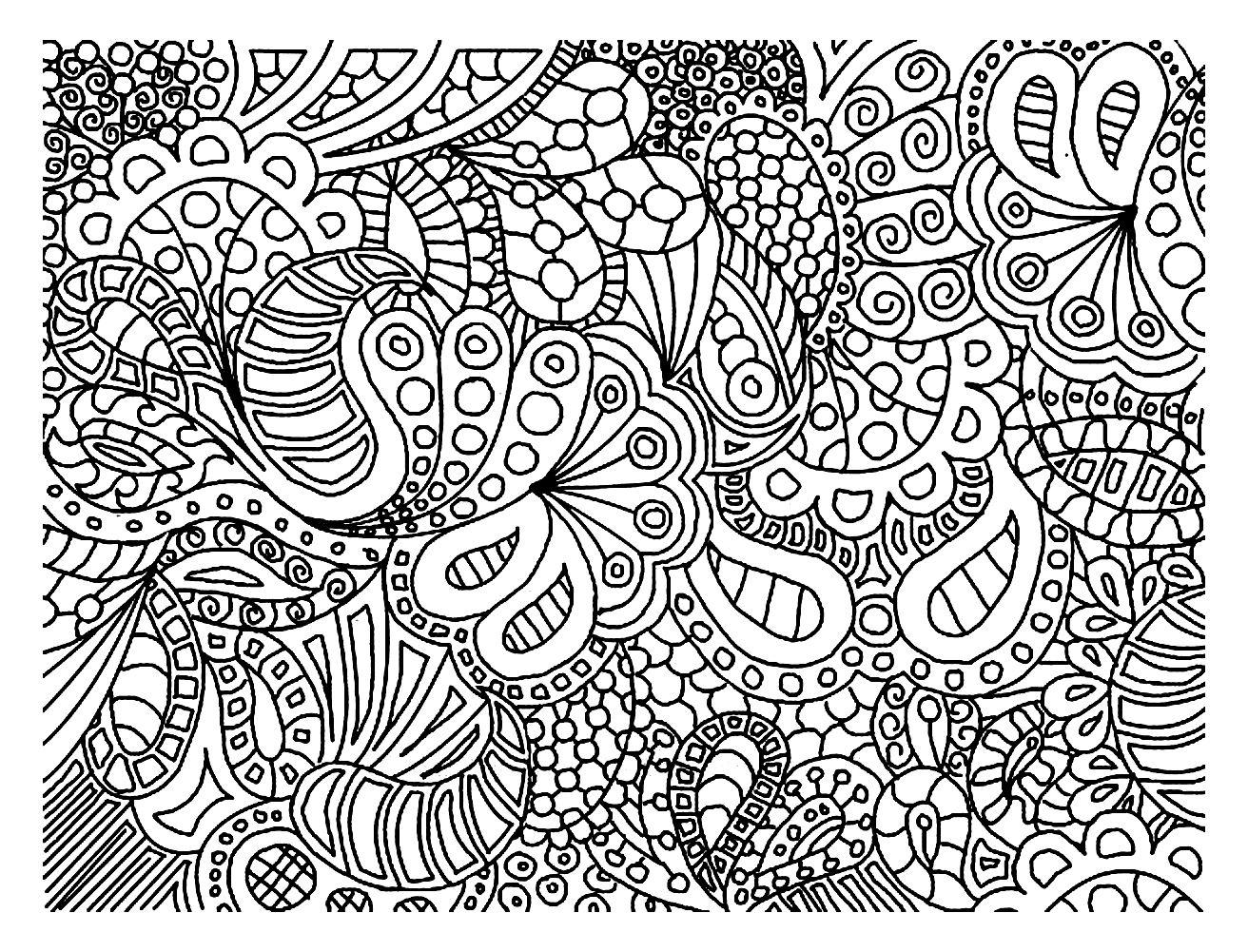 Gribouillage doodle art 5