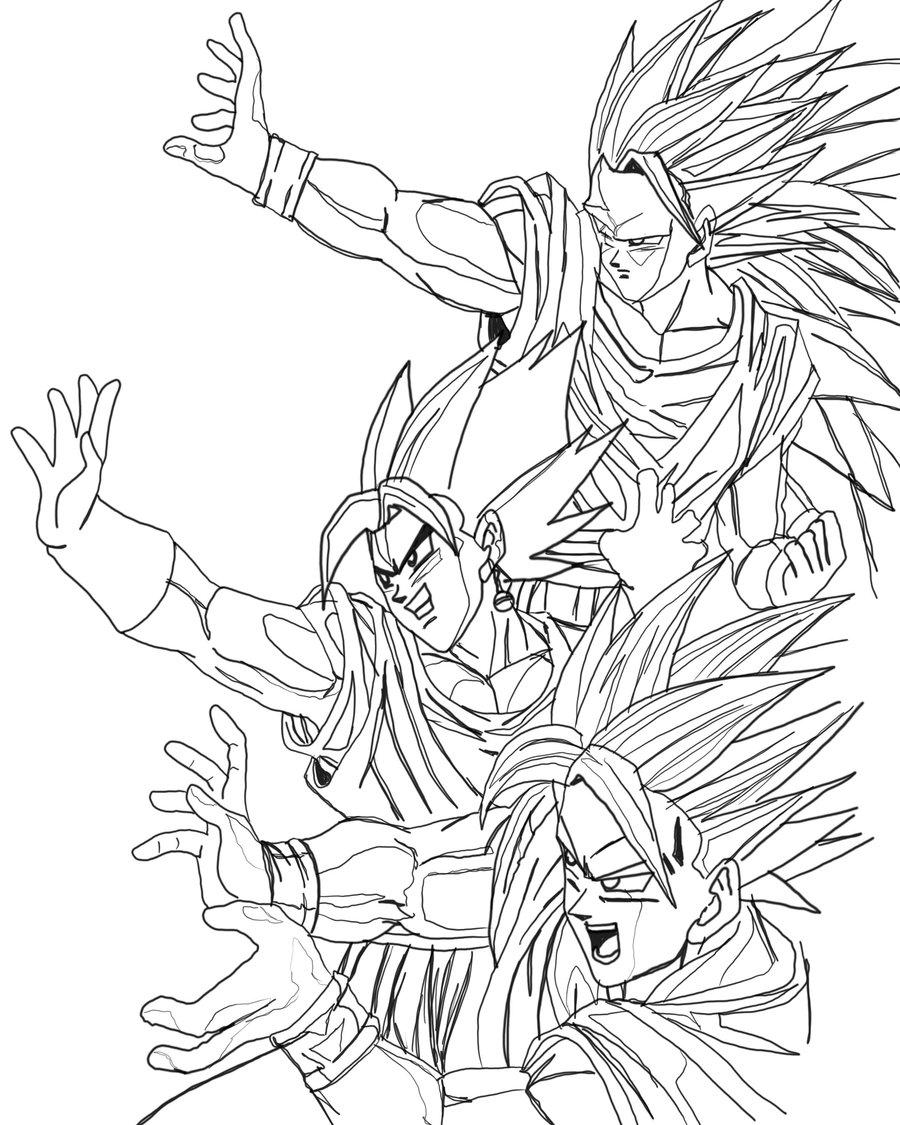 Dragon ball gratuit 5 coloriage dragon ball z - Site de coloriage gratuit ...