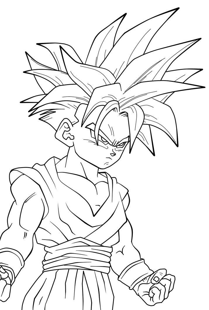 Dragon ball gratuit 9 coloriage dragon ball z - Coloriage gratuit dragon ball z ...
