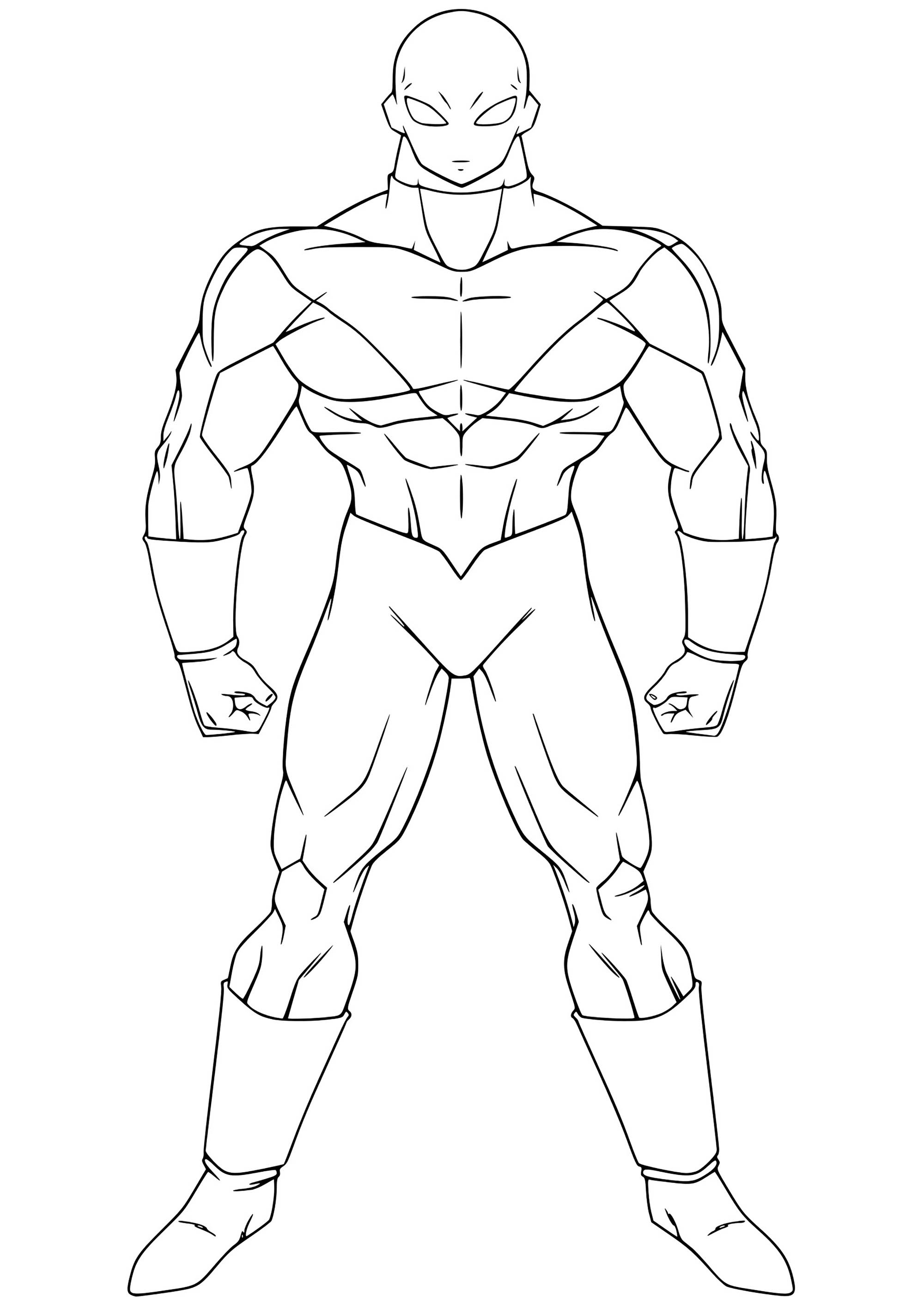 Jiren Coloriage Dragon Ball Z Coloriages Pour Enfants