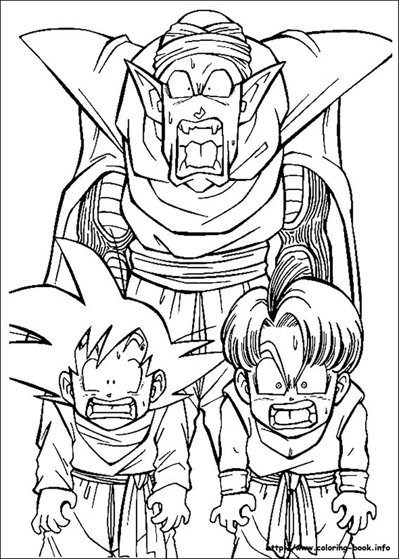 Facile Dragon Ball Picolo Goten Et Truncs Saga Buu