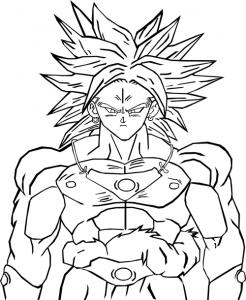 Facile Dragon Ball Trunks Futur Coloriage Dragon Ball Z