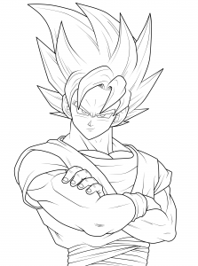 Dragon Ball Dragon Ball Z Dessin Facile Vegeta